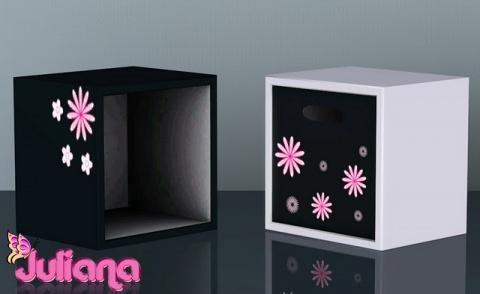 Cute Cube Cabinets by Juliana
