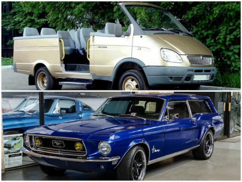 10 очень странных автомобиле…