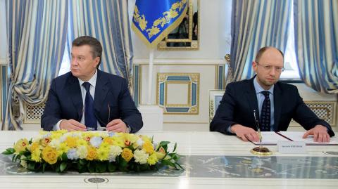 Яценюк заявил о возможности возвращения Януковича к власти в 2014 году