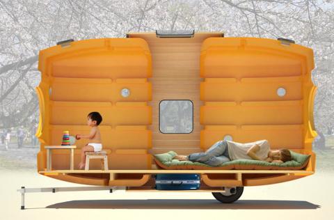 Облегченный дом на колесах