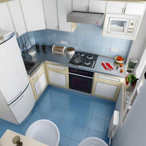 И еще раз про дизайн кухни - фотоподборка
