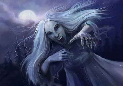 Мряка напугает до смерти, Ырка высосет всю кровь...