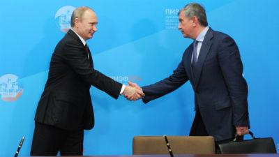 Сын Сечина получил орден от Путина