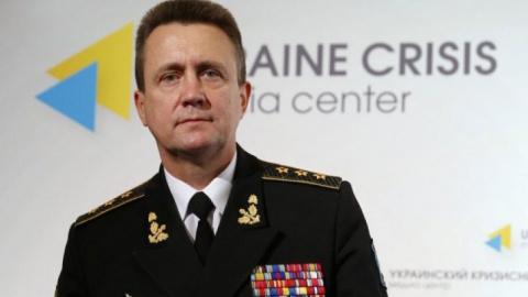 Украинский адмирал сокрушает…