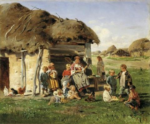 Анастасия. Из деревенской жизни. с. Плужниково