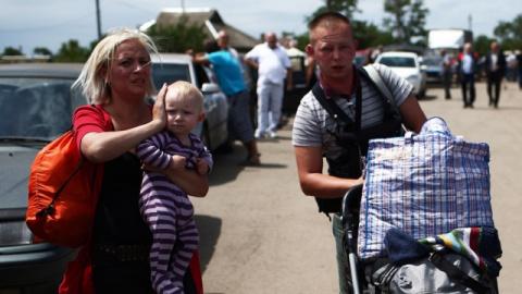 Бизнес Порошенко на беженцах из Славянска