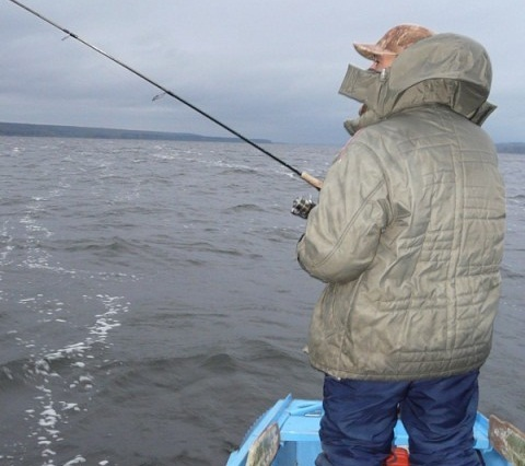 Настоящая рыбалка начинается в сумерках