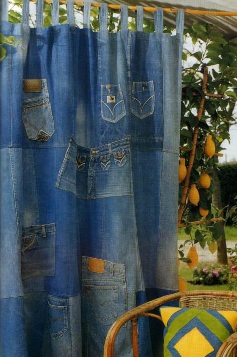 Что можно сделать из старых джинс.