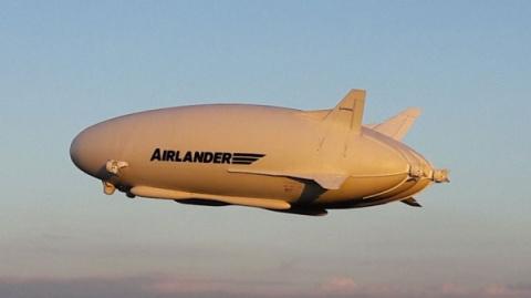 Самое большое воздушное судн…