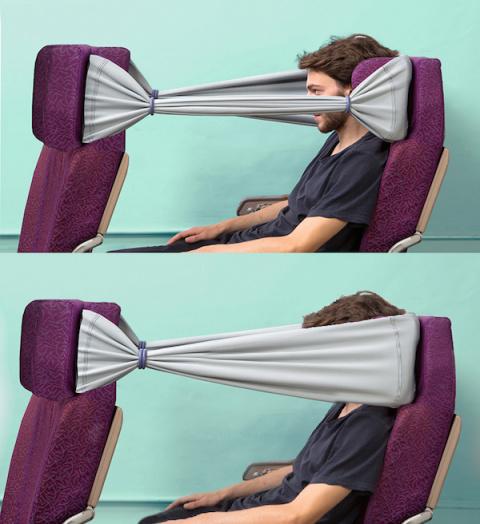 Неприкосновенность частной жизни с гамаком для головы