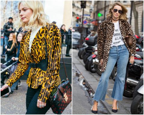 Как носить леопардовый принт и выглядеть стильно: 10 правил