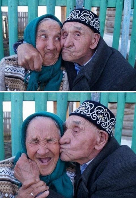 Любви все возрасты покорны: душевные фотографии счастливых пожилых пар
