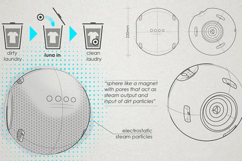 Новый концепт стиральной машины от компании Electrolux