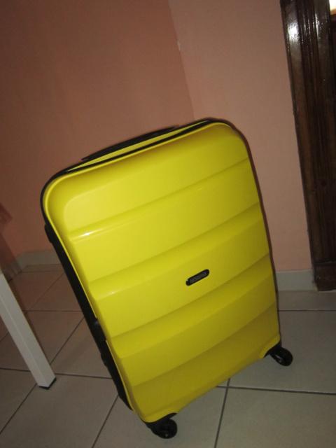 Июнь 2017. Приключения жёлтого чемоданчика.