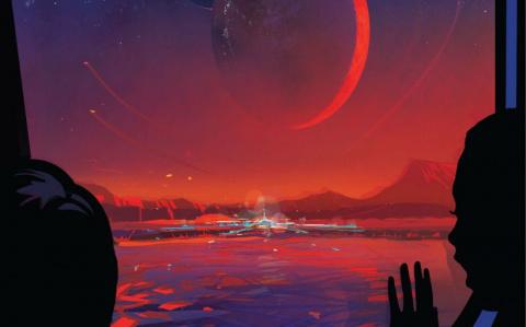 NASA открыло 7 планет подобных Земле