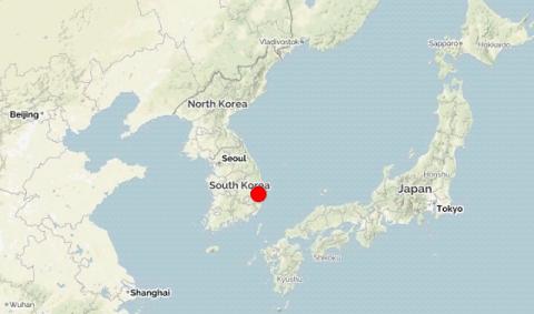 Сильное землетрясение в Южно…