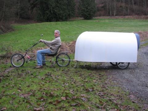 Велодомик для путешествий вс…
