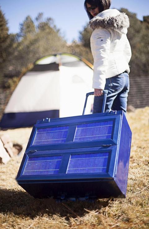 На Indiegogo собирают средства на портативный холодильник, который обеспечит холодом везде и всюду