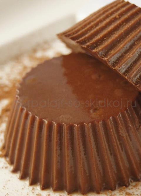 низкокалорийный шоколадный десерт