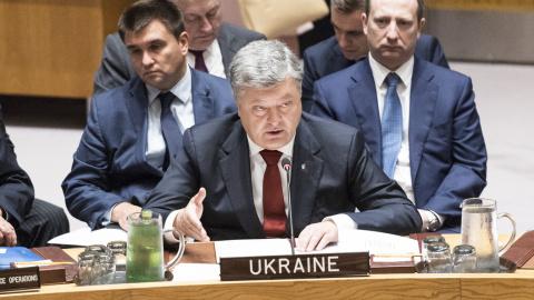 Порошенко решил разбираться c конфликтом на Донбассе по советам Канады