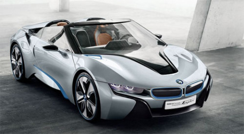 Каким будет гибридный суперкар BMW