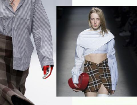 Модные варианты с рубашкой
