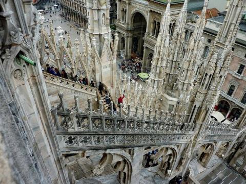 Миланский кафедральный собор…
