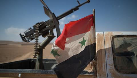 Армия Сирии отбила у террористов часть территории на границе с Ливаном