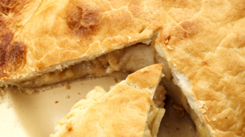 Яблочный пирог с сыром чедде…