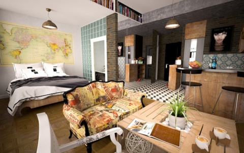 Добавляем маленькой квартире…