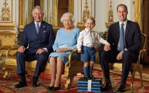 Принц Джордж Кембриджский и …