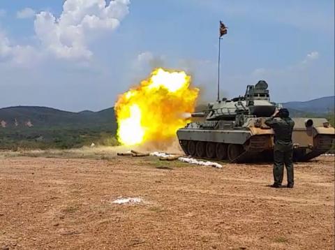 Cлужба и быт венесуэльских танкистов