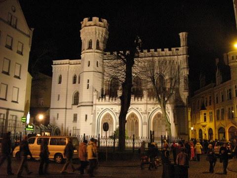 Рига ,старый город- здание малой гильдии