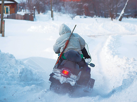 Волки на снегоходах: у дичи нет шансов