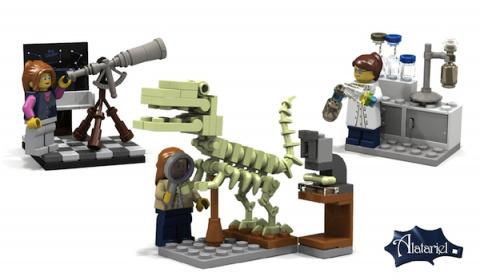Lego выпустит набор, посвященный женщинам-ученым