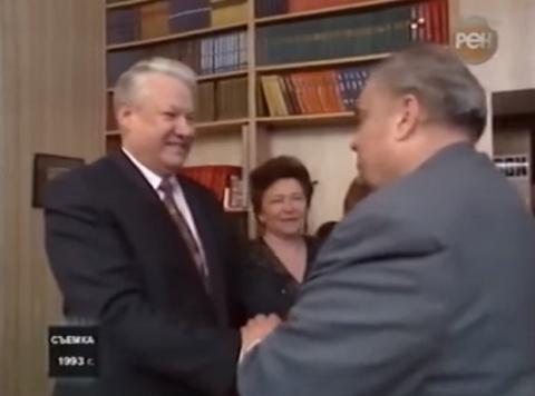 Рязанов в гостях у Ельцина. …