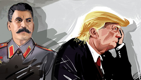 Как Трамп на ковре у Сталина побывал