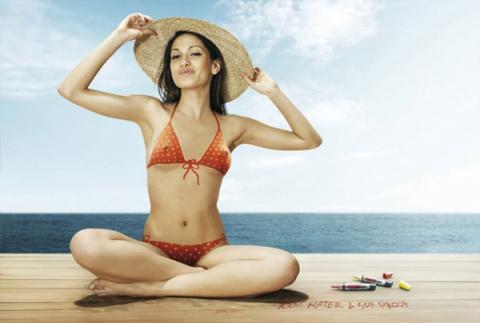 Вы бы пошли в таком на пляж?)
