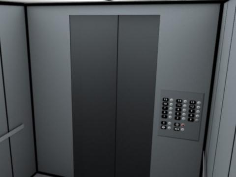 Парень с незнакомой девушкой застряли в лифте. То, что сказал парень, пытаясь разрядить обстановку — просто умора!