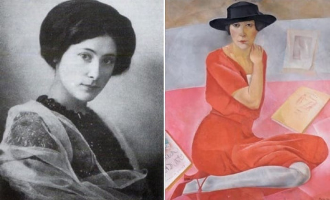 Первая красавица и последняя муза Серебряного века  —  Саломея Андроникова