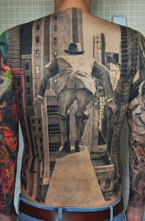 Невероятные 3-D татуировки, …