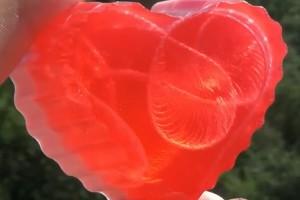 Мыло – эффект с ниткой, МК