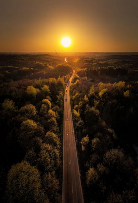 Захватывающие дыхание панорамы Литвы с высоты птичьего полета