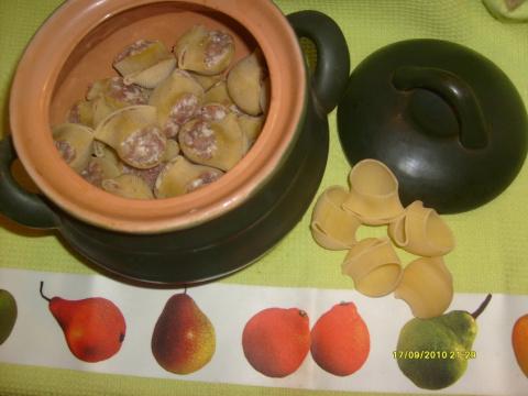 Фаршированные макароны (Дебют)