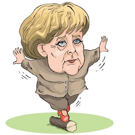 Меркель и Путин - без пива и Украины