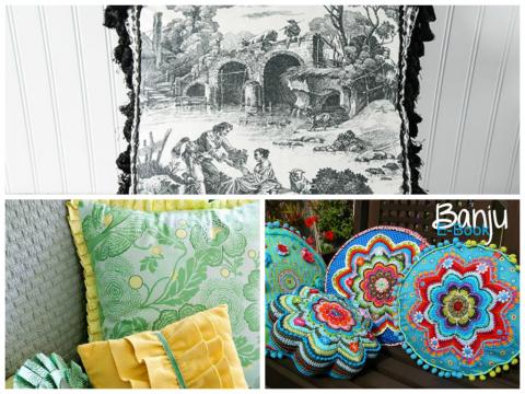 Идеи декоративных подушек