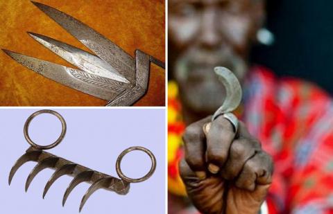 Экзотические виды древнего оружия