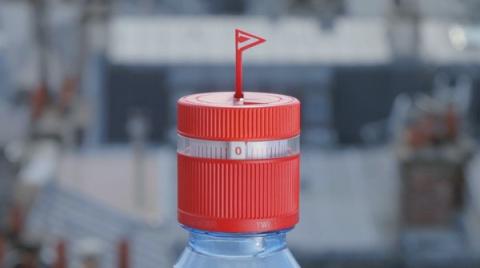 Заботливая крышечка пластиковой бутылки