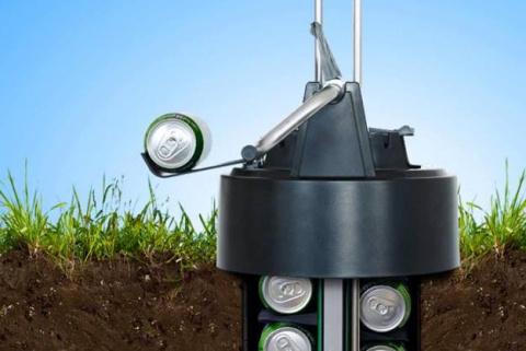 Охлаждаем пиво под землей