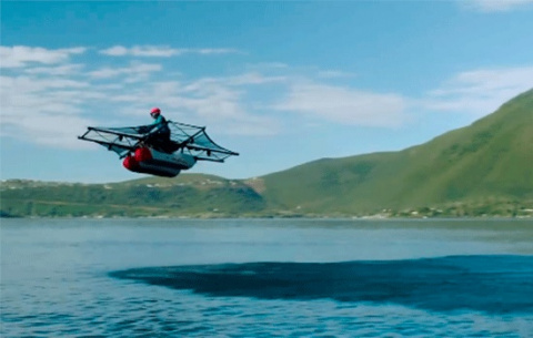 Новый «летающий автомобиль» …